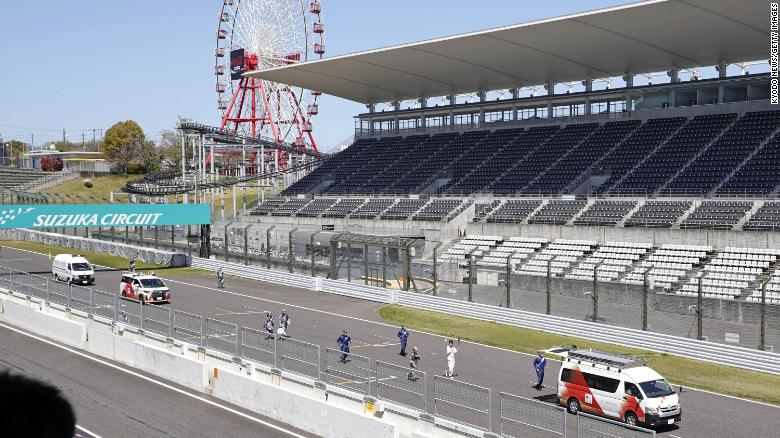 Japanese Grand Prix canceled due to Covid-19 pandemic