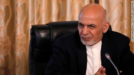 Former Afghan President Ashraf Ghani emerges in the UAE