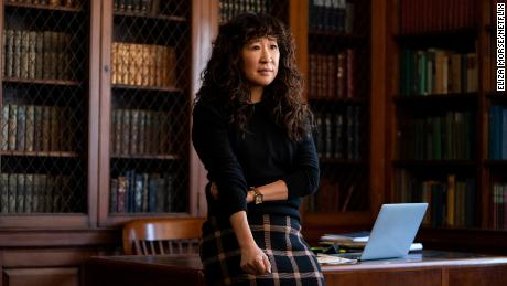 Sandra Oh dans «La chaise».