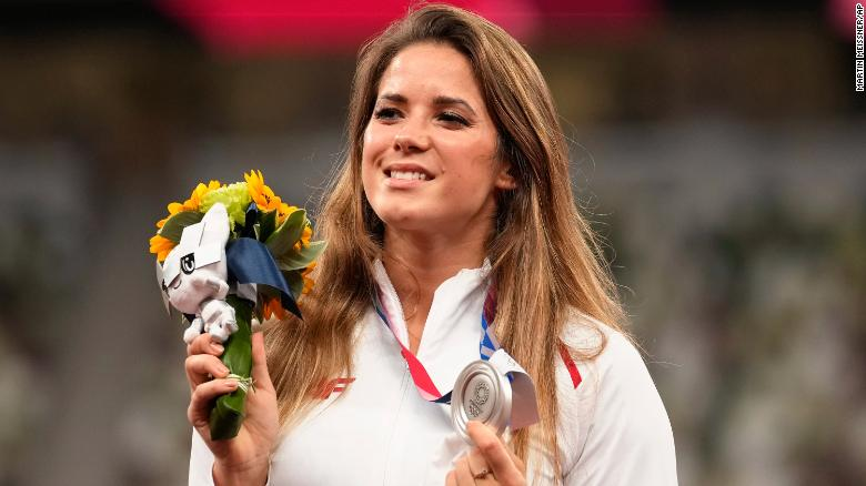 Polish javelin thrower Maria Andrejczyk auctions Tokyo 2020 silver medal to help eight-month-old get heart surgery