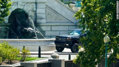 Capitol bomb threat suspect charged with threatening to use a weapon of mass destruction