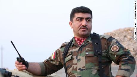 Peshmerga Maj. Gen. Sirwan Barzani