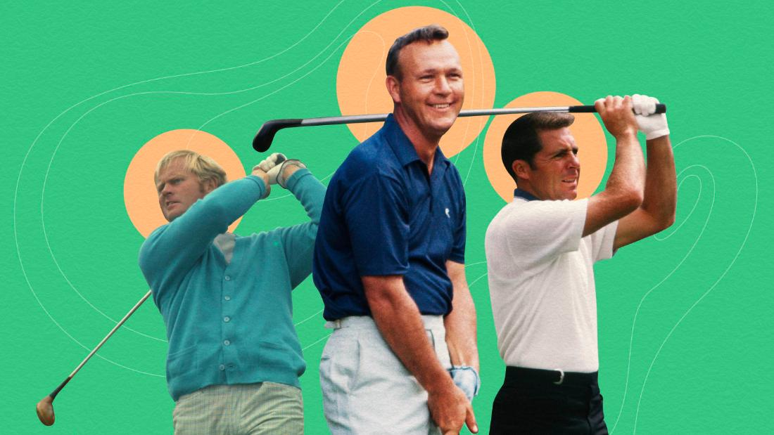 The power of three: How Arnold Palmer, Gary Player and Jack Nicklaus revolutionized golf