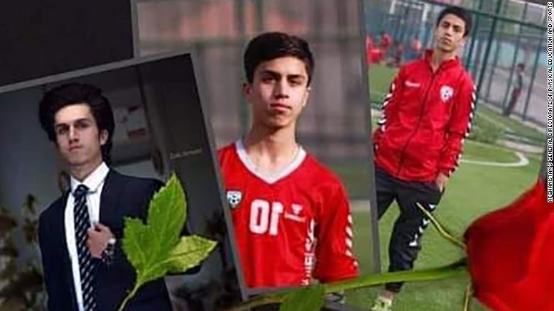 Afghan youth national footballer was one of the victims that fell from US military aircraft, says Afghan Sports Directorate