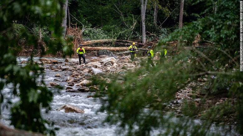 Search continues for those unaccounted for after Tropical Depression Fred slammed North Carolina county