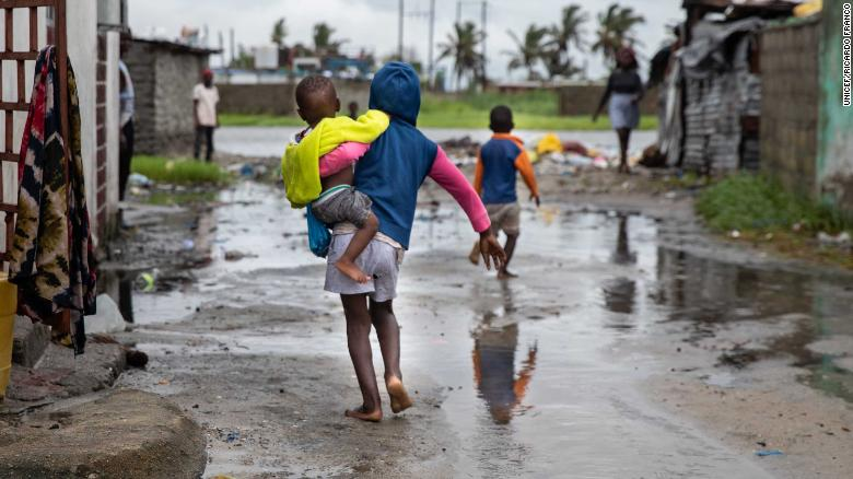 A billion children are at 'extremely high risk' of climate shocks, UNICEF says