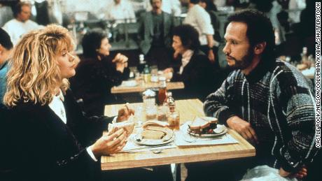 """Meg Ryan and Billy Crystal starred in """"When Harry Met Sally,"""" launching the neotraditionalist era of the romantic comedy."""