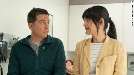 """Ed Helms (left) and Patti Harrison starred in 2021's """"Together Together."""""""