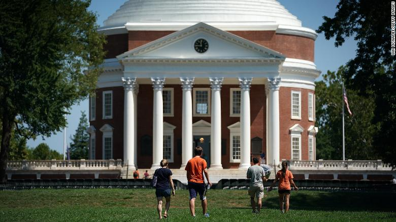 University of Virginia disenrolls 238 students for not complying with university's vaccine mandate