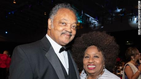 Rev. Jesse Jackson and his wife have been hospitalized after testing positive for Covid-19