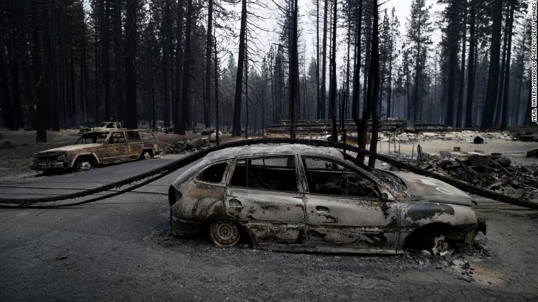 Caldor Fire grows to more than 98,000 acres as US sees 94 active large fires nationwide