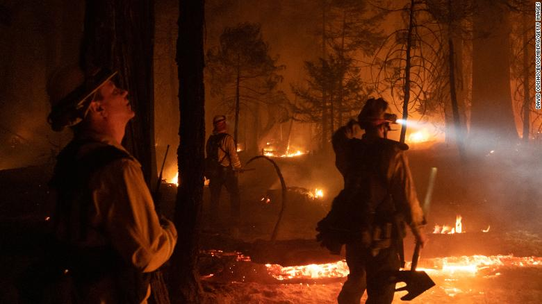 9 national forests close in California as state grapples with drought-fueled wildfires
