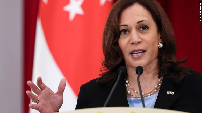 Afghanistan fallout engulfs Harris' first day of Southeast Asia trip