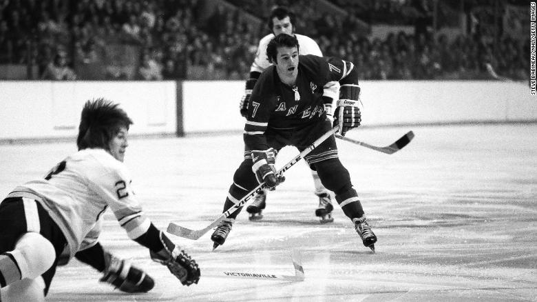 """Hall of Fame hockey player <a href=""""https://www.cnn.com/2021/08/22/sport/rod-gilbert-mr-ranger-dead-spt/index.html"""" target=""""_blank"""">Rod Gilbert,</a> who earned the nickname """"Mr. Ranger"""" while playing his entire 18-season career with the New York Rangers, died on August 22. He was 80 years old."""