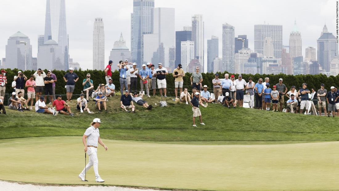 Northern Trust could run into Tuesday to ensure 72 holes played after delay from Tropical Storm Henri
