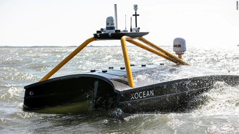 Greener and cheaper: Crewless vessels are mapping the ocean thanks to an Irish startup