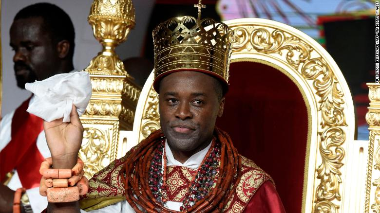 A new king was crowned in Nigeria's oil-rich Delta region and young Nigerians are inspired