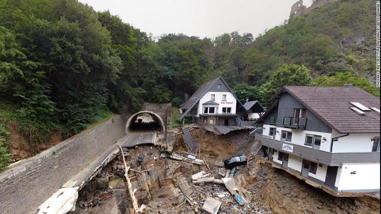 Germany's deadly floods were up to 9 times more likely because of climate change, study estimates