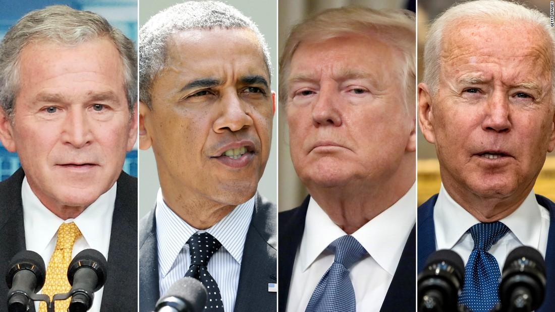 Bush Obama Trump Biden: How four presidents created today's Afghanistan mess – CNN