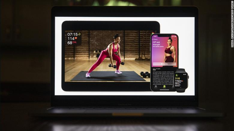 A central piece of Tim Cook's strategy has been expanding Apple services such as Fitness+.