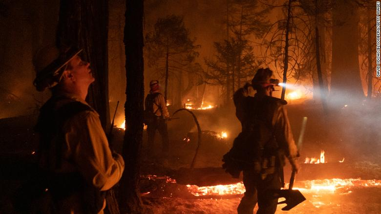 Raging wildfires in California forced 42,000 to evacuate and drove Reno residents indoors due to historically bad air quality