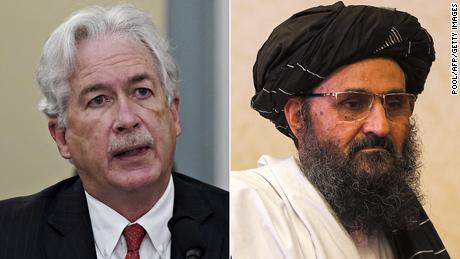 CIA director met with Taliban leader in Kabul on Monday as part of evacuation efforts