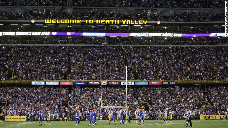 LSU to require proof of vaccination or negative PCR test at Tiger Stadium