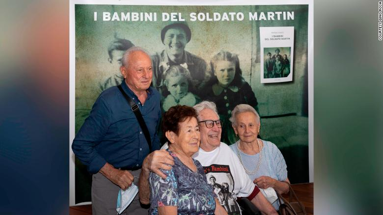 US veteran reunited with Italian siblings he almost shot in World War II