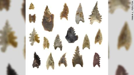 Maros points are associated with the Toalean culture.