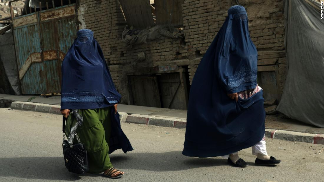 Taliban tell Afghan women to stay home from work because soldiers are 'not trained' to respect them – CNN