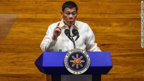 Philippines' Duterte raises rivals' suspicions by seeking vice presidency in 2022