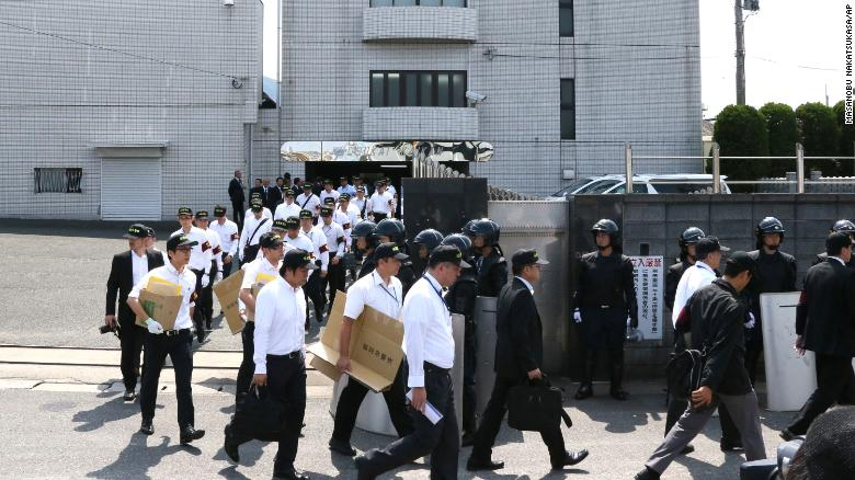 Japan gang boss sentenced to death after group members attacked civilians