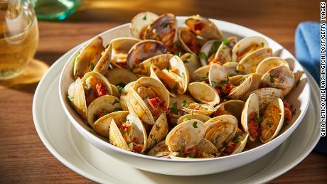 Clams are a good source of omega-3s and are a good choice for the environment.