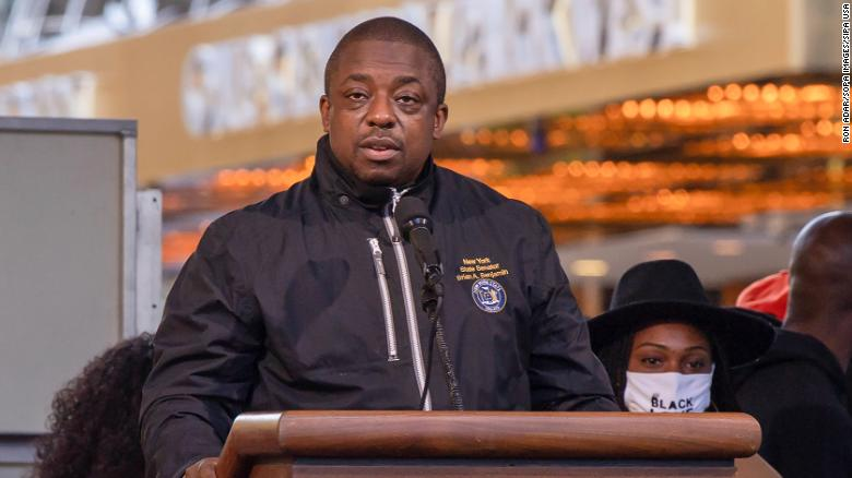 NY Gov. Hochul expected to name state Sen. Brian Benjamin for lieutenant governor