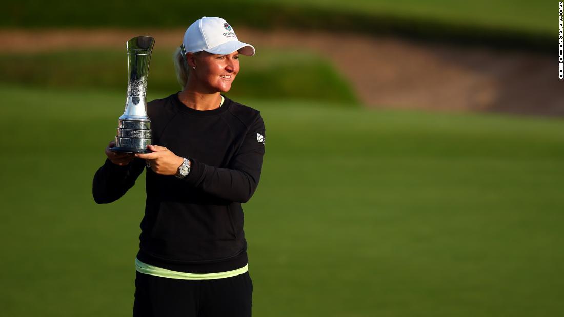 'I just felt really weak': Anna Nordqvist reveals mental health battle after major victory
