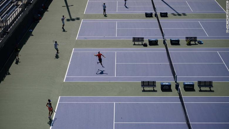 The US Open will offer mental health services to athletes this year