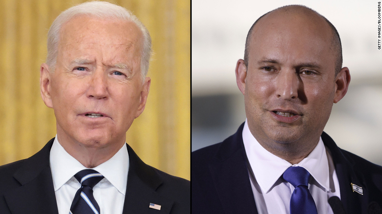 Biden looks for air-clearing in first meeting with Israel's new leader