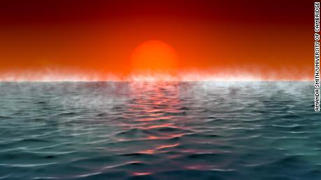 Planet Hycean adalah planet panas yang ditutupi oleh lautan dengan atmosfer yang kaya akan hidrogen.