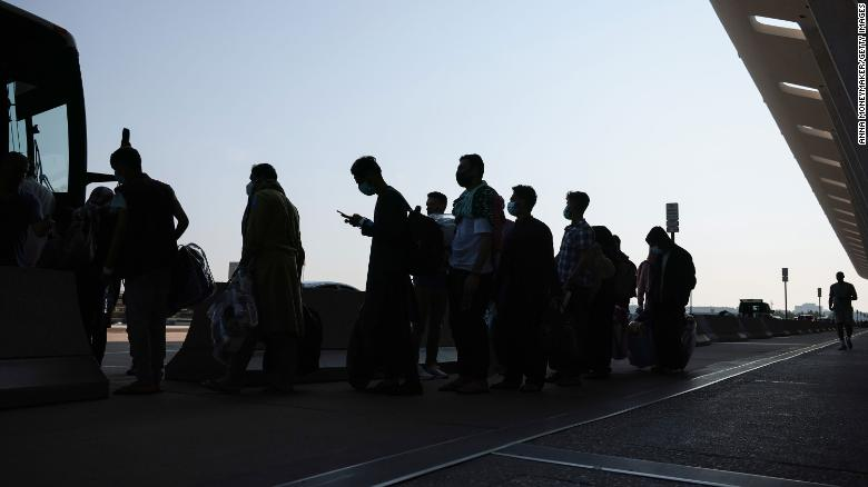 Arriving Afghans without paperwork prompt delays and security challenges