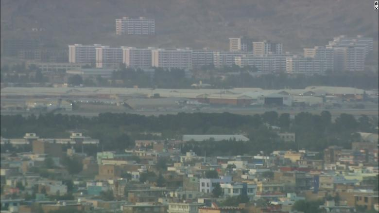 Blast reported outside Hamid Karzai International Airport in Kabul