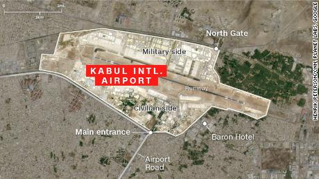 Explosions near Kabul airport with US personnel reported among casualties