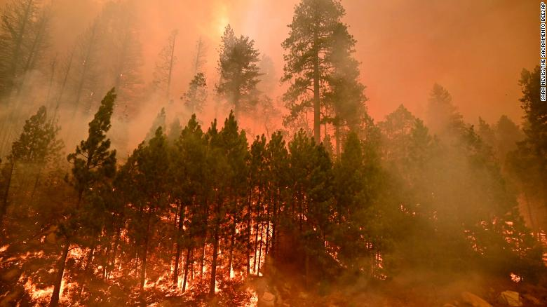 More than 34,000 Californians are under evacuation orders as state faces dangerous weather conditions for fire activity