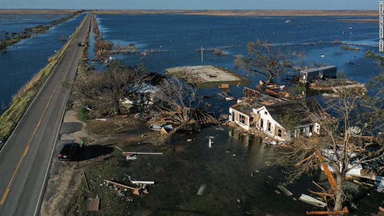 Louisiana hadn't yet recovered from two major hurricanes in 2020. Now another is taking aim