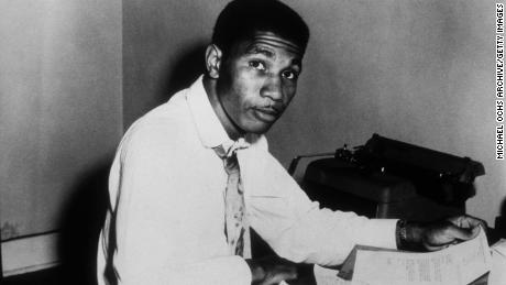 JACKSON, MS - CIRCA 1960:  Civil Rights Activist and NAACP Field Secretary Medgar Evers poses for a portrait circa 1960 in Jackson, Mississippi. (Photo by Michael Ochs Archive/Getty Images)