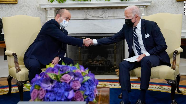 Biden meets with new Israeli prime minister: 'We've become close friends'