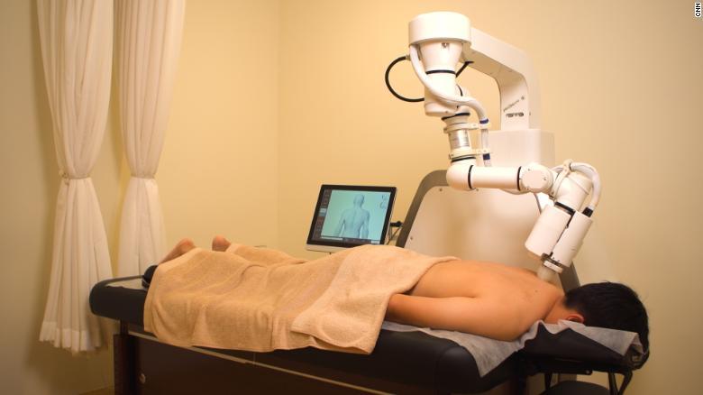 Meet 'EMMA': The AI robot masseuse practicing ancient wellness therapies