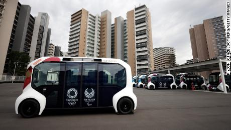 Toyota has halted the use of its e-Palette vehicles at the Olympic village after one struck a visually-impaired Paralympic athlete while he was crossing a crosswalk.