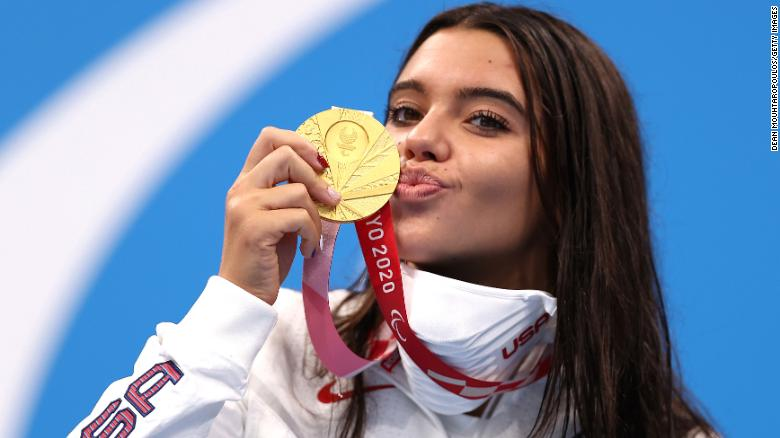 Meet the 17-year-old swimmer and TikTok star who just won Paralympic gold