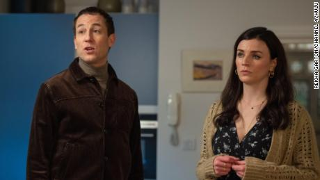 Aine (Aisling Bea) and Richard (Tobias Menzies) in 'This Way Up.'