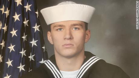 US Navy corpsman Maxton Soviak